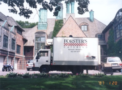 Big or small, every home is a castle when Forster's Catering is on the job!